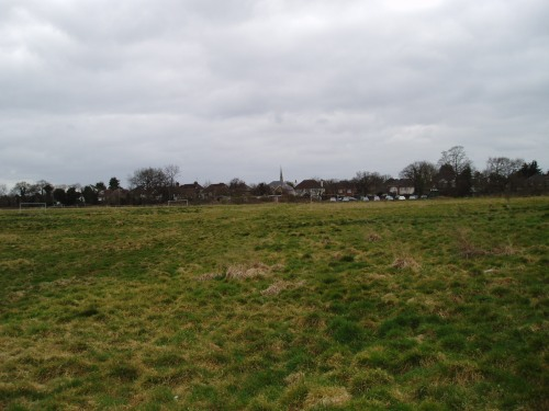 Recent view of the Conquest site