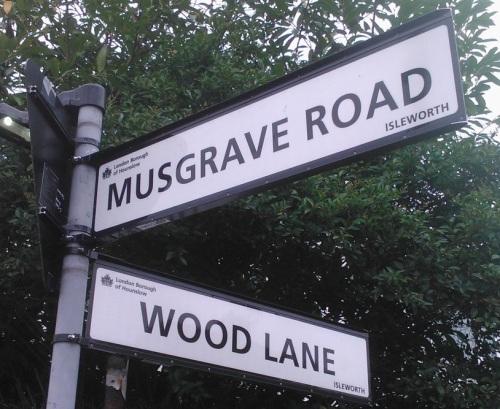 150921 Wood Lane Musgrave sign