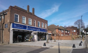 Moore's Cycles at 3-5 St Johns Road, Isleworth as at 3 March 2016