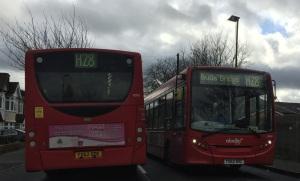 H28s on Wood Lane Isleworth