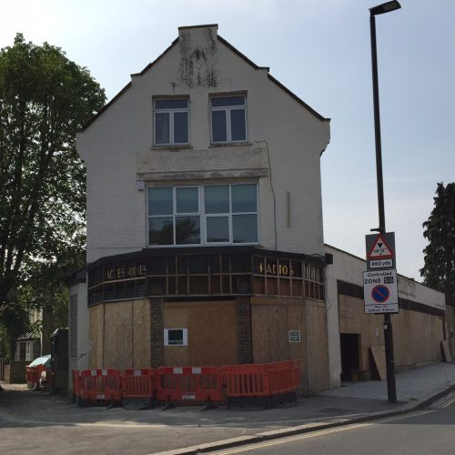 1 Clifton Road Soon to be a Tesco Express