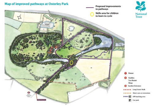 Osterley Park Trails proposal