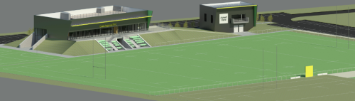 Proposal for the new £9.7m Grasshoppers RFC facility at the Conquest Club to be funded by Hounslow Council