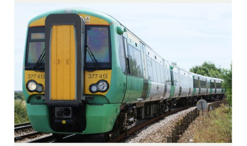 A GTR Southern train - GTR's recent new timetable removed 300+ daily services