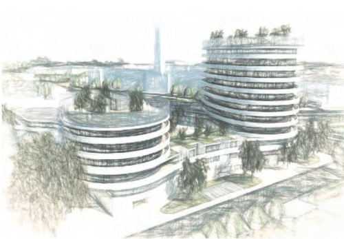 Syon Gate Garage site early proposal