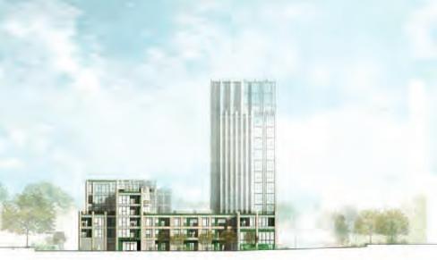Syon Gate Garage site, more recent proposal