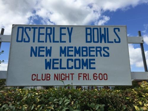 Osterley Bowls Club since 1936