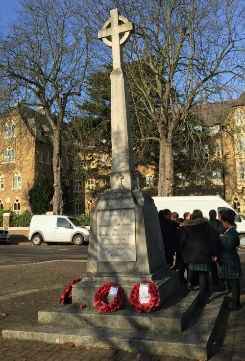 Memorial to staff and students of Borough Road College lost to wars